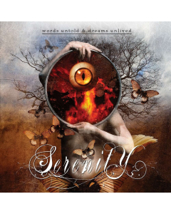 11811 serenity words untold and dreams unlived cd power metal