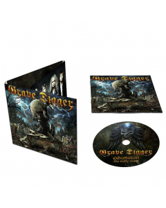 grave digger exhumation the early years digipak cd