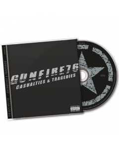 56224 gunfire 76 (wednesday 13) casualties and tragedies cd punk