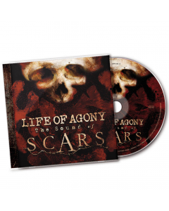 57598 life of agony the sound of scars cd crossover groove metal
