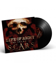 57599 life of agony the sound of scars black lp crossover groove metal