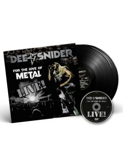 dee snider for the love of metal live black 2 vinyl dvd