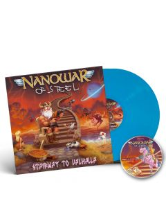 nanowar of steel stairway to valhalla skyblue 2 vinyl + cd