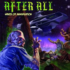 AFTER ALL - Waves of Annihilation / Digipak