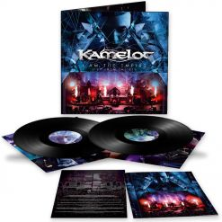 kamelot i am the empire live from the 013 black 2 vinyl