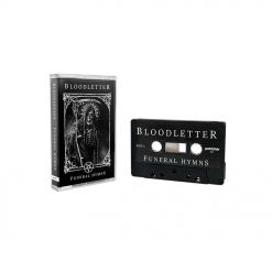 bloodletter funeral hymns neon cassette tape