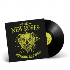 57128 the new roses nothing but wild black lp rock